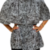 Grey Roses Reflective Cape