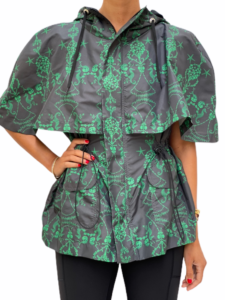 Royal Green Cape