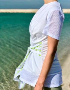 wrap waist top