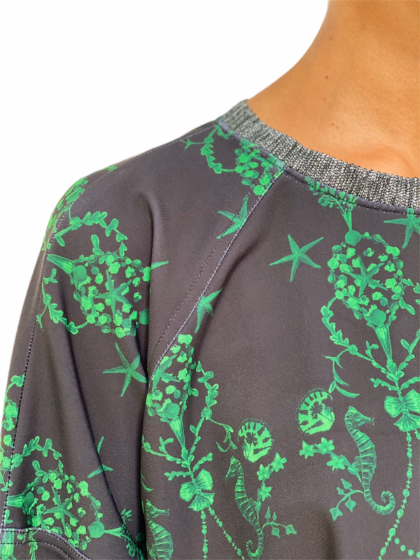 Royal Green Soft Sweater